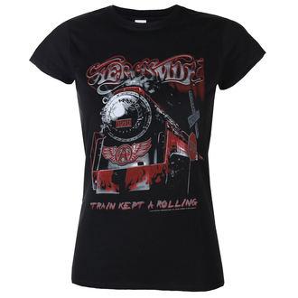 t-shirt metal donna Aerosmith - Train kept a going - LOW FREQUENCY, LOW FREQUENCY, Aerosmith