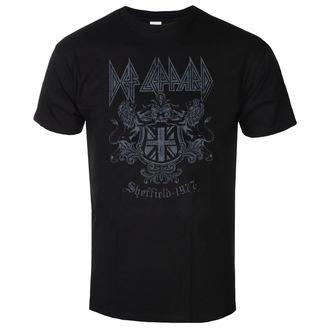 t-shirt metal uomo Def Leppard - Sheffield 1977 - LOW FREQUENCY, LOW FREQUENCY, Def Leppard