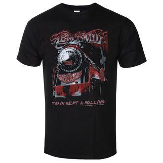 t-shirt metal uomo Aerosmith - Train kept a going - LOW FREQUENCY, LOW FREQUENCY, Aerosmith