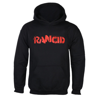 Felpa da uomo con cappuccio Rancid - Logo - Nero - KINGS ROAD, KINGS ROAD, Rancid