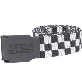 Cintura URBAN CLASSICS - UC Canvas Checkerboard - nero / bianco, URBAN CLASSICS
