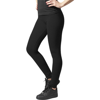 Leggins da donna URBAN CLASSICS - Jersey Leggings - nero, URBAN CLASSICS