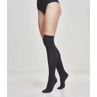 Calze sopra al ginocchio URBAN CLASSICS - 2-Pack - Nero, URBAN CLASSICS