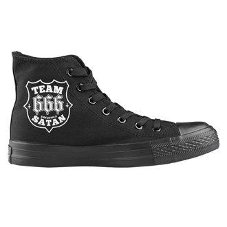 scarpe da ginnastica alte unisex - Team Satan - AMENOMEN, AMENOMEN