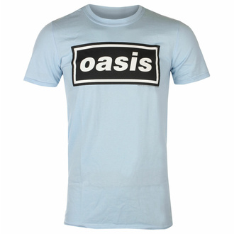 Maglietta da uomo Oasis - Decca Logo Sky Blue, NNM, Oasis