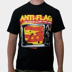 t-shirt metal uomo Anti-Flag - Black - KINGS ROAD, KINGS ROAD, Anti-Flag