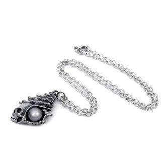 Pendente collana ALCHEMY GOTHIC - The Black Pearl Of Plage Noire, ALCHEMY GOTHIC