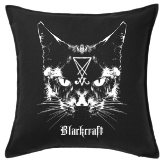 cuscino  BLACK CRAFT - Lucifer The Cat Throw, BLACK CRAFT