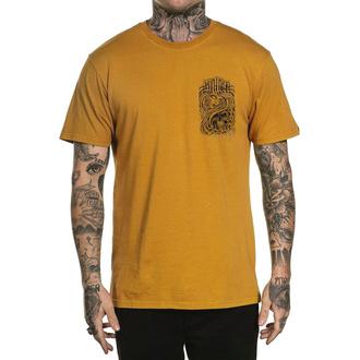 Maglietta da uomo SULLEN - SUMMERTIME IN THE GTC - MOSTARDA, SULLEN