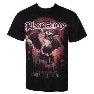 t-shirt metal uomo Rhapsody - 20TH ANNIVERSARY - RAZAMATAZ, RAZAMATAZ, Rhapsody