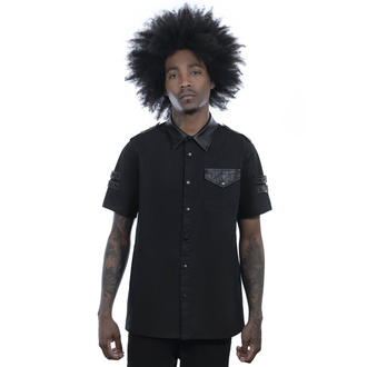 Camicia da uomo KILLSTAR - Trooper Button-Up, KILLSTAR