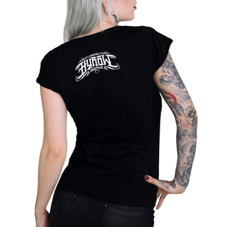 t-shirt hardcore donna - QUEEN OF THE PIT - HYRAW, HYRAW