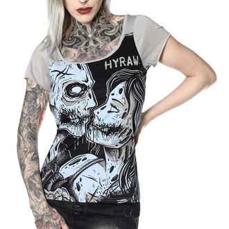 t-shirt hardcore donna - TRUE LOVE - HYRAW, HYRAW