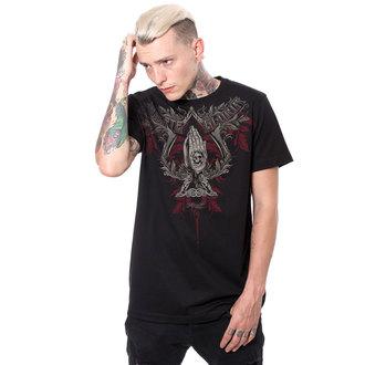 t-shirt hardcore uomo - MUERTE GLORIA - HYRAW