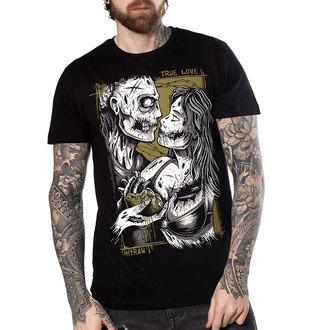 t-shirt hardcore uomo - TRUE LOVE - HYRAW, HYRAW