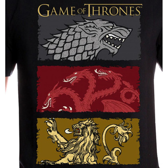 t-shirt film uomo Game of thrones - THE HOUSES OF THE KING - LEGEND, LEGEND, Il trono di spade