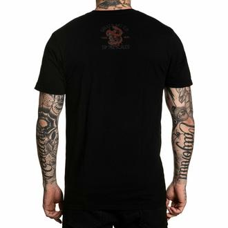 Maglietta da uomo SULLEN - CORAL SCALES - NERO, SULLEN