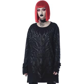 Maglietta unisex a maniche lunghe KILLSTAR - Untamed - Nero, KILLSTAR