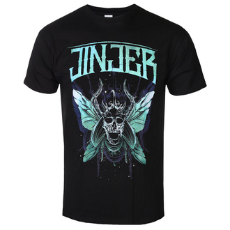 t-shirt metal uomo Jinjer - Butterfly Skull - NAPALM RECORDS, NAPALM RECORDS, Jinjer