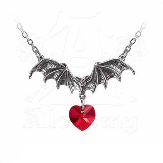Collana ALCHEMY GOTHIC - Vampire Love Heart, ALCHEMY GOTHIC