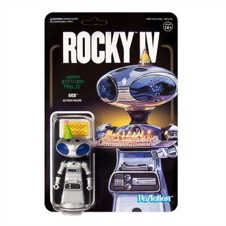 Action Figure Rocky - 4 ReAction - Sico Paulie di Robot, NNM, Rocky