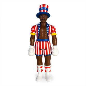 Action Figure Rocky - 4 ReAction - Apollo Credo, NNM, Rocky