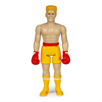Action Figure Rocky - 4 ReAction - Ivan Drago, NNM, Rocky