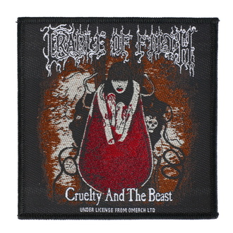 toppa Cradle Of Filth - Cruelty And The Beast - RAZAMATAZ, RAZAMATAZ, Cradle of Filth