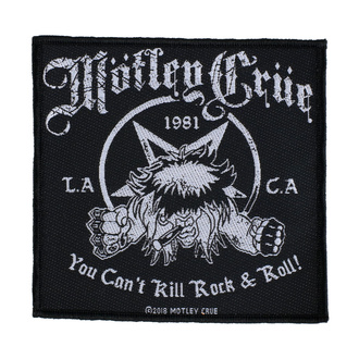 toppa Mötley Crüe - You Can't Kill Rock N Roll - RAZAMATAZ, RAZAMATAZ, Mötley Crüe