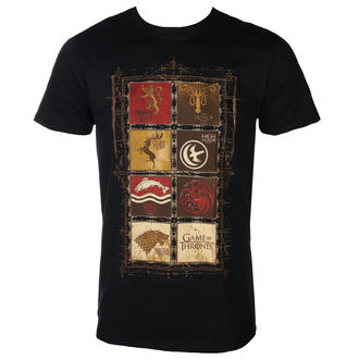 t-shirt film uomo Hra o trůny - BLOCK SIGILS - PLASTIC HEAD, PLASTIC HEAD