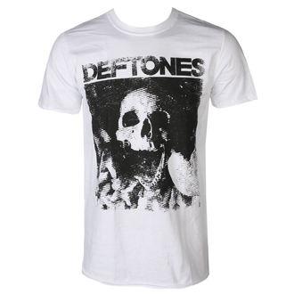 maglietta uomini DEFTONES - SKULL - BIANCA - PLASTIC HEAD, PLASTIC HEAD, Deftones