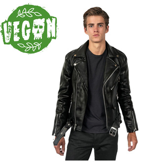 giacca di pelle - Vegan Commando II - STRAIGHT TO HELL, STRAIGHT TO HELL
