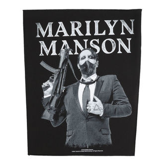 Grande toppa Marilyn Manson - Machine Gun - RAZAMATAZ - BP1099