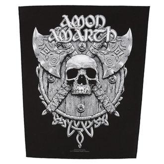 toppa grande AMON AMARTH - SKULL AND AXES - RAZAMATAZ, RAZAMATAZ, Amon Amarth