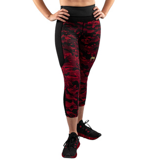 Pantaloni da donna (leggins) VENUM - Defender - Nero / Rosso, VENUM