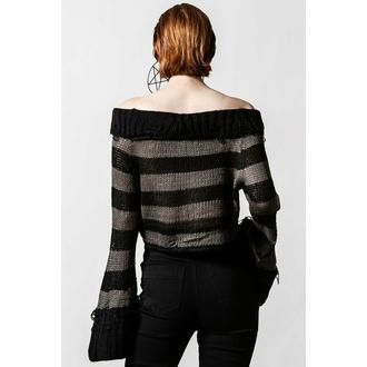 Maglione da donna KILLSTAR - Visage Knit- Nero / Cenere, KILLSTAR
