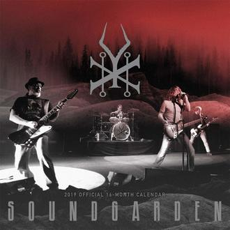 Calendario per anno 2019 SOUNDGARDEN, NNM, Soundgarden