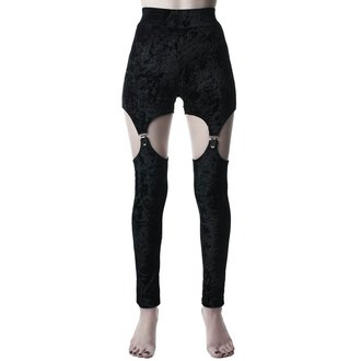 pantaloni (ghette) KILLSTAR - Nina - NERO, KILLSTAR