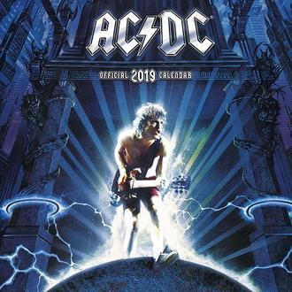 Calendario per anno 2019  AC  /  DC , NNM, AC-DC