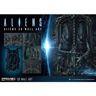 Decorazione da parete Alien - 3D Wall Art, NNM, Alien