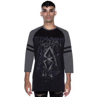 T-shirt da uomo con maniche a 3/4 KILLSTAR - Wake From Death, KILLSTAR