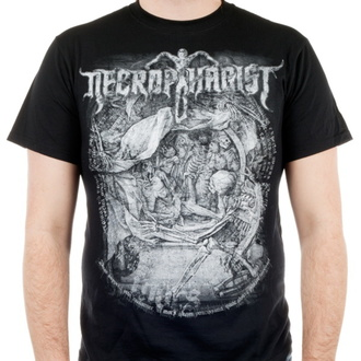 t-shirt metal uomo Necrophagist - Mors - INDIEMERCH, INDIEMERCH, Necrophagist