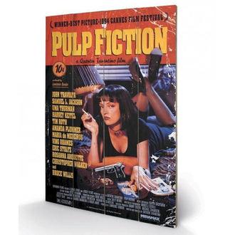 Pittura in legno Pulp Fiction - (&&string0&&) - PYRAMID POSTERS, PYRAMID POSTERS, Pulp Fiction