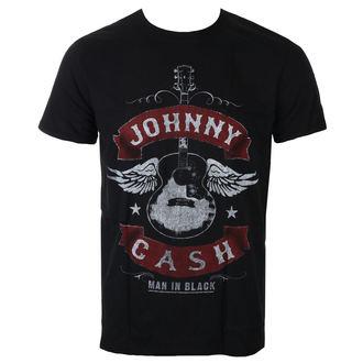 t-shirt metal uomo Johnny Cash - Winged Guitar - ROCK OFF, ROCK OFF, Johnny Cash
