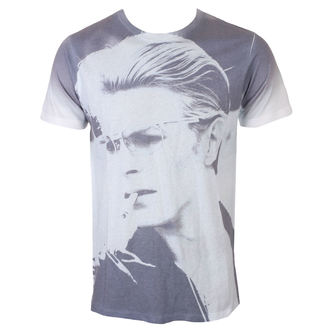 Maglietta Uomo David Bowie - Wild Profile - bianca - ROCK OFF, ROCK OFF, David Bowie