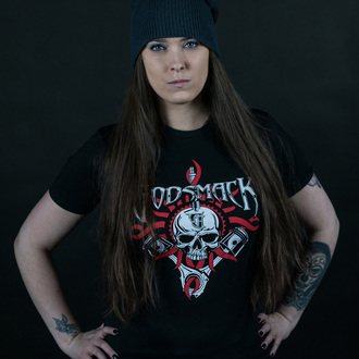 t-shirt metal uomo Godsmack - Chrome Pistons - ROCK OFF, ROCK OFF, Godsmack