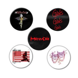 Distintivi Mötley Crüe - DR FEELGOOD - RAZAMATAZ, RAZAMATAZ, Mötley Crüe