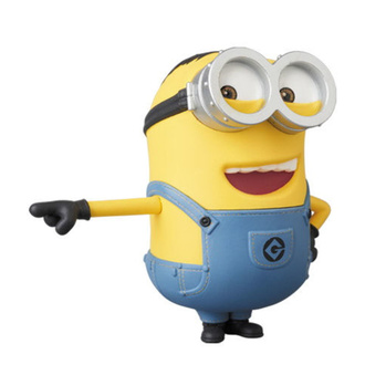 Action Figure Minions - Despicable Me Minions UDF - Dave, NNM, Mimoni