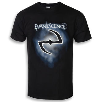 t-shirt metal uomo Evanescence - Classic Logo - ROCK OFF, ROCK OFF, Evanescence
