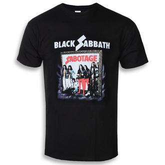t-shirt metal uomo Black Sabbath - Sabotage - ROCK OFF, ROCK OFF, Black Sabbath